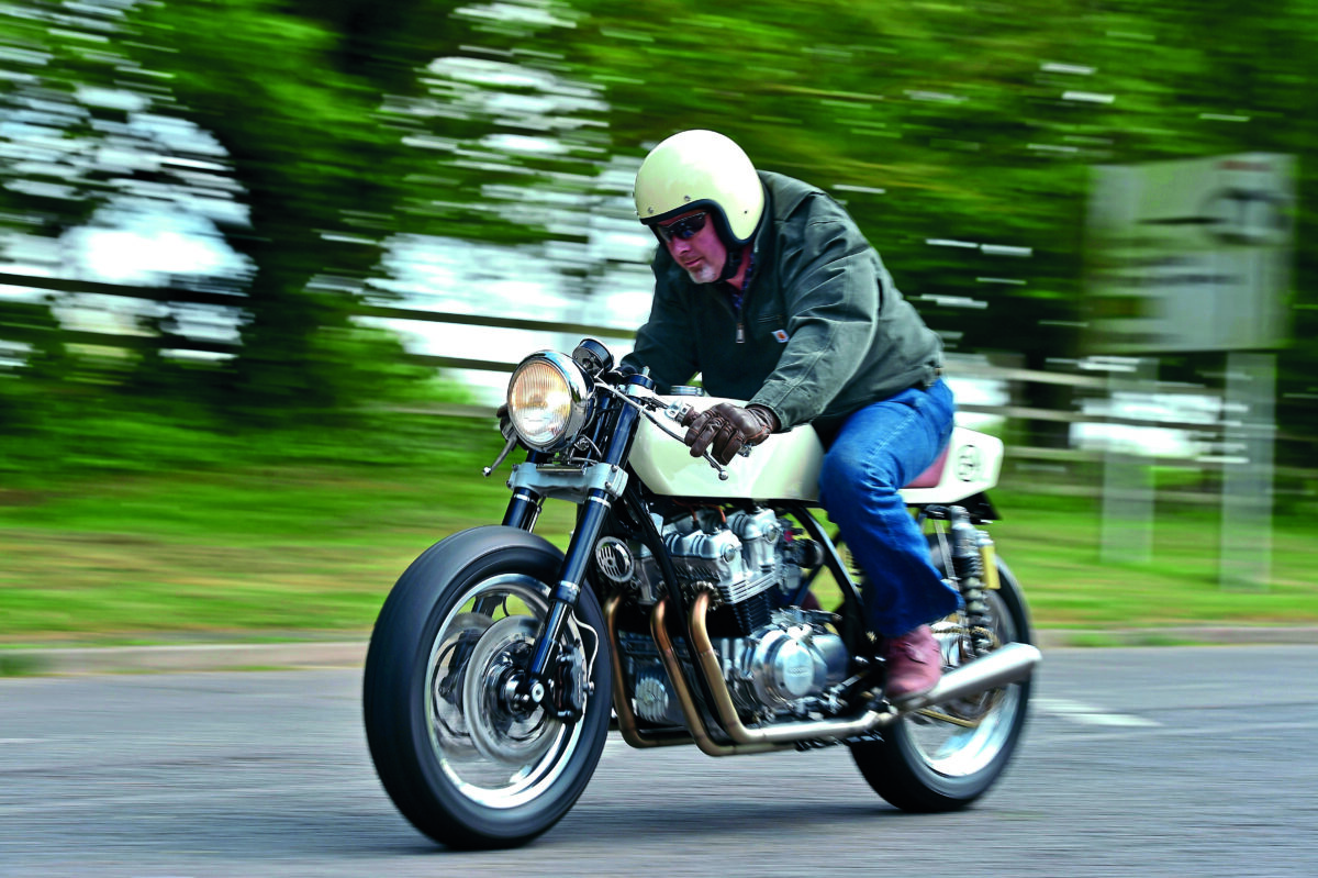 Cafe Racer 54 Back Street Heroes Honda Cb750 Engine Cutaway