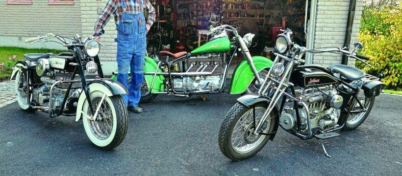 Volvos on two wheels – Back Street Heroes