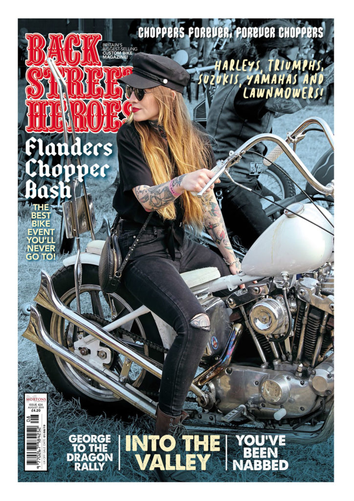 August Issue On Sale Now Back Street Heroes